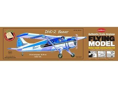 DHC-2 Beaver Guillow's Balsa Wood Flying Model kit#305