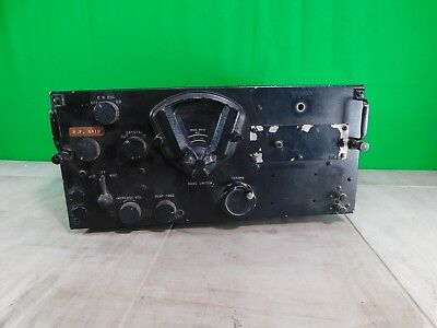 Vintage U.S  W W 2   BC-348 Aircraft Radio--Usually Installed in Large B-17