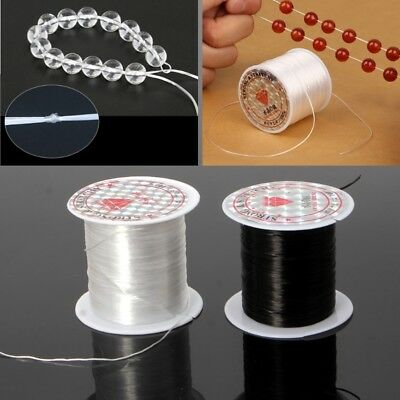 Elastic Clear Beading Thread Stretch Polyester String Cord for Jewelry Making