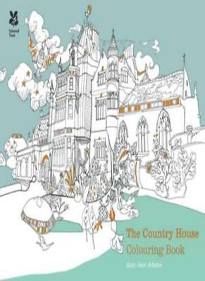The Country House Colouring Book (Colouring Books), Adams 9781909881778 New+-