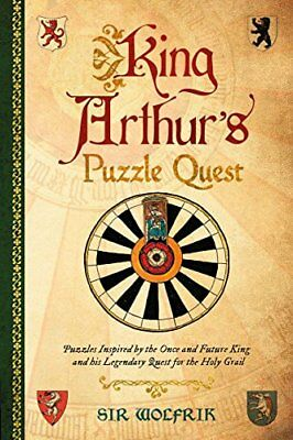 King Arthur's Puzzle Quest by Galland  New 9781853759635 Fast Free Shipping+-