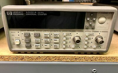 HP KEYSIGHT AGILENT 53131A UNIVERSAL FREQUENCY COUNTER 225MHz