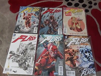 The Flash # 30-35 1st Wally West II/ 1st Appearance of Wally West In New 52
