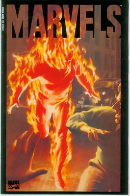 Marvels # 1 (of 4) (Alex Ross, 52 pages, 2nd printing) (USA, 1993)