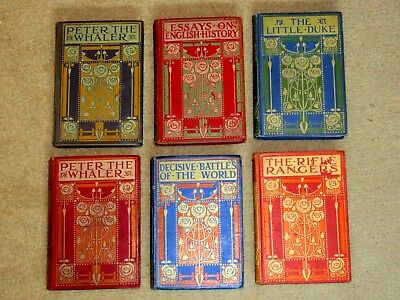 ART NOUVEAU BINDINGS by ETHEL LARCOMBE. BLACKIE. SCOTTISH ART NOUVEAU