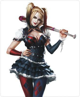 Cute Harley Quinn Japanese Anime Cartoon Comic Gaming Mouse Pad