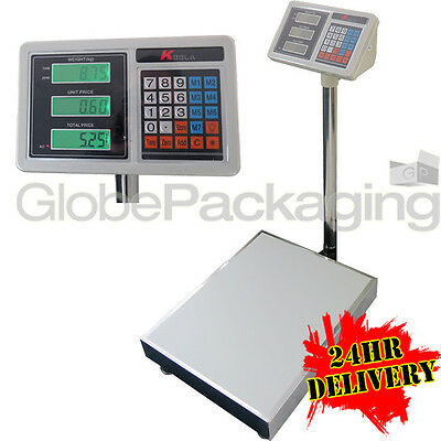 New Heavy Duty Keela 332Lb 150Kg Industrial Platform Postal Weighing Scales