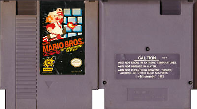 Original Super Mario Bros (3-Screw) - Nintendo NES - Tested - Cartridge Only