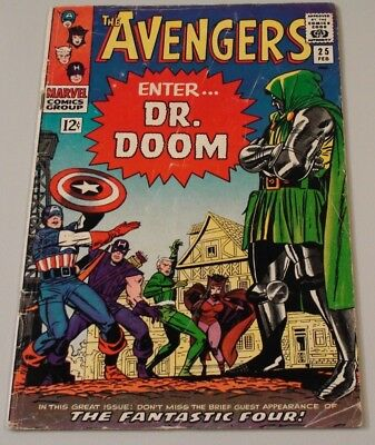 Avengers #25!  Early Dr. Doom appearance!