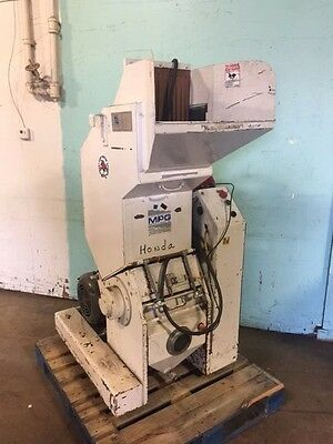 """mpg Service & Sales Mp-1114N"" Heavy Duty Commercial 10Hp Plastic Granulators"