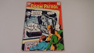 Doom Patrol #86!  First appearance of Brotherhood of Evil!