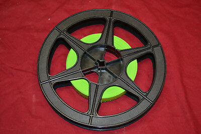 BRAND NEW Neumade FIESTA 16mm Green Film Leader * SINGLE PERF * 100 FEET & REEL