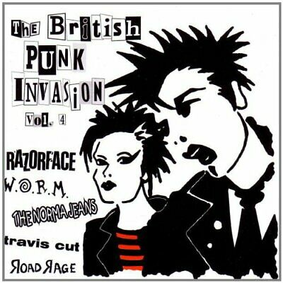 Various Artists : British Punk Invasion Vol 4 CD Expertly Refurbished Product