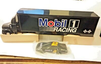 Mobil One 1994 Toy Race Car Carrier Limited Edition