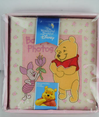 Disney Winnie the Pooh Baby s First Photo Album for a Girl