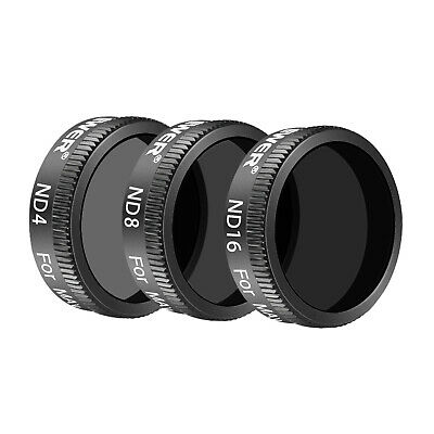 Neewer Pro Neutral Density Filter Kit ND4 ND8 ND16 for DJI Mavic Air Drone