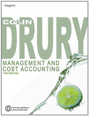 Management and Cost Accounting,Colin Drury- 9781844805662