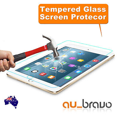 Apple iPad 2 3 4 Air 2 Mini Pro 9.7 10.5 11 12.9 Tempered Glass Screen Protector