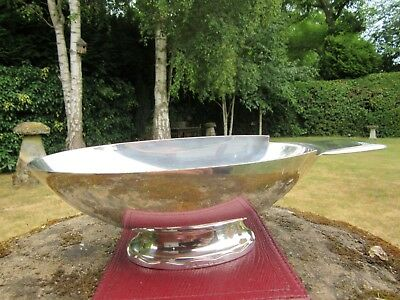 Christofle Gallia Sauceboat France Excellent- Condition Silver Plate