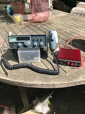 Cb Radio Midland 3001 With Burner Boots