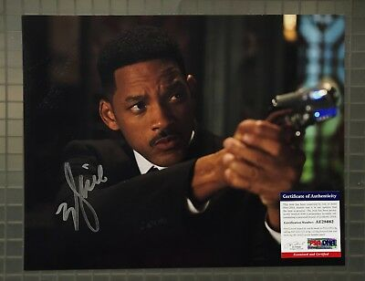 Will Smith Signed 11x14 MEN IN BLACK Photo Autographed AUTO PSA/DNA COA