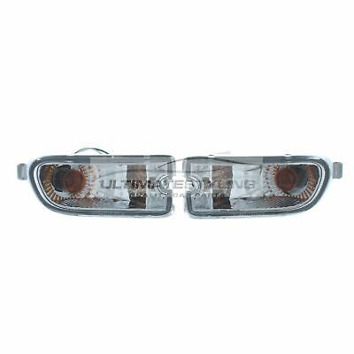 For Subaru Impreza 1999-2000 Crystal Clear Front Indicators Pair Left & Right