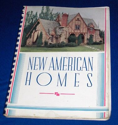Garlinghouse New American Homes Catalog c1930's House Floor Plans Architecture