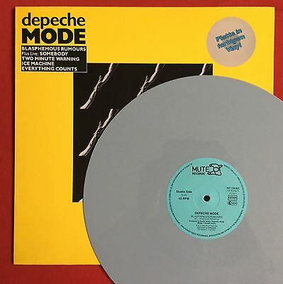 "DEPECHE MODE -Blasphemous Rumours- Rare German Grey Vinyl 12"" (Record)"