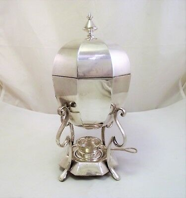 Art Deco Silver Plated Egg Coddler / Egg Boiler - Complete