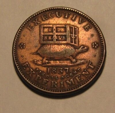 1837 Token - Executive Experiment / Steps Of Predecessor - NICE  - 76SA