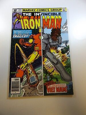 Iron Man #144 FN/VF condition Huge auction going on now!