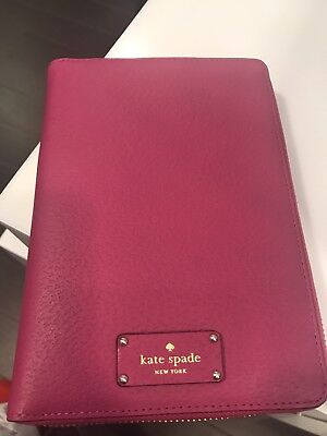 Kate Spade New York Planner Personal Organizer NWT Hot Pink $229. Sold Out