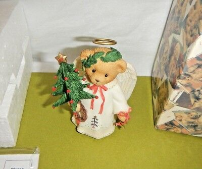 Cherished Teddies Everyone Needs A Little Help Learning to Fly Ariel  Christmas