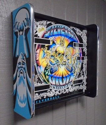 Bally SilverBall Mania Pinball Head LED Display light box