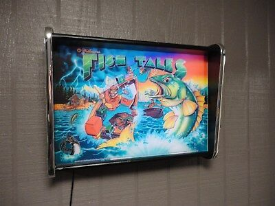 Williams Fish Tales Pinball Head LED Display light box