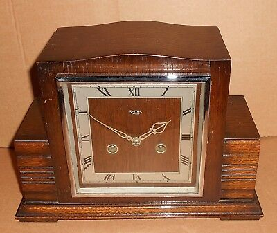 Art Deco Smiths Enfield Mantle Clock
