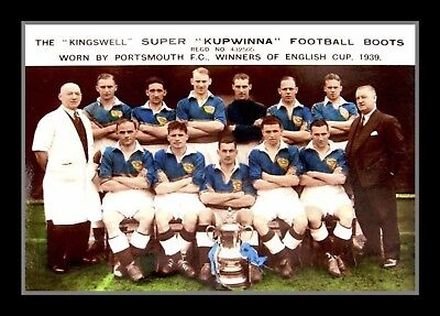 Retro/Photo/Photograph/1939 FA Cup Winners/Portsmouth Team Print