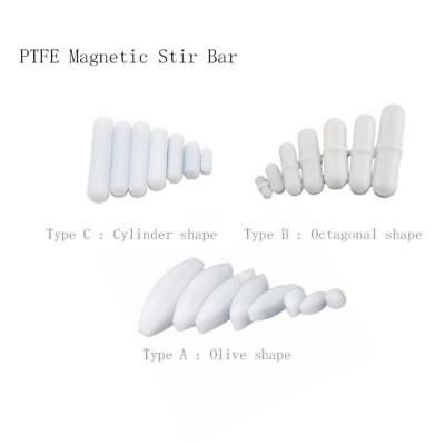 PTFE Magnetic Stirrer Mixer Stir Bar Lab Chemistry Anti corrosion acid alkali