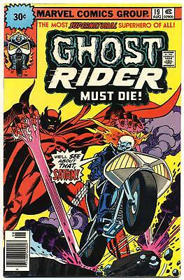 GHOST RIDER #19 VG/F, 30¢ Cover Price Variant, Marvel Comics 1976
