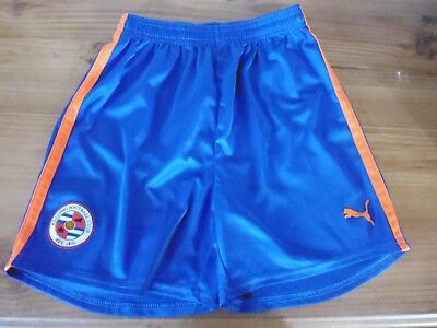 Blue READING FC Football Shorts..164cms ( approx Age 14)