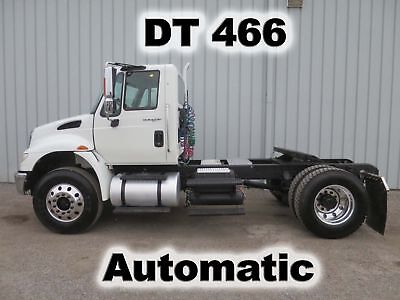 4400 Dt-466 Automatic Single Axle Day Cab Semi Spotter Haul Truck Low Miles