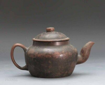 18th.c Or Earlier Chinese Covered Yixing Teapot