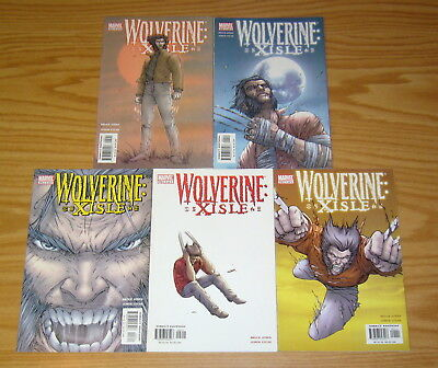 Wolverine: Xisle #1-5 VF/NM complete series - bruce jones - marvel comics 2 3 4
