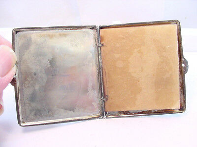 Vintage Sterling Silver Note Book With Parchment Pages