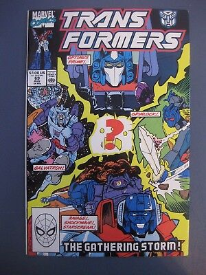 Transformers #69 The Gathering Storm August 1990 Marvel Comics
