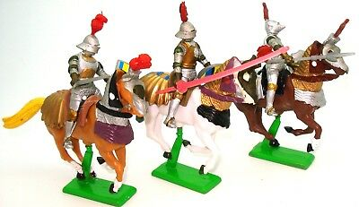 Britains Herald - Three Mounted Knights - Mint - Bargain!