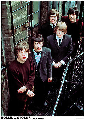 Poster ROLLING STONES - Group Looking Up 1965 ca60x85cm NEU 15205
