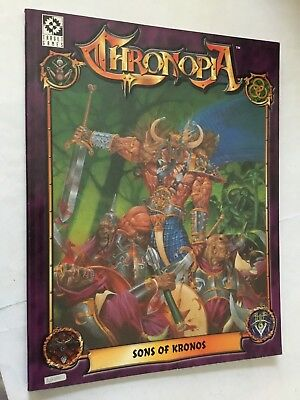 CHRONOPIA: SONS OF Kronos Target Games Tabletop Rpg #2204