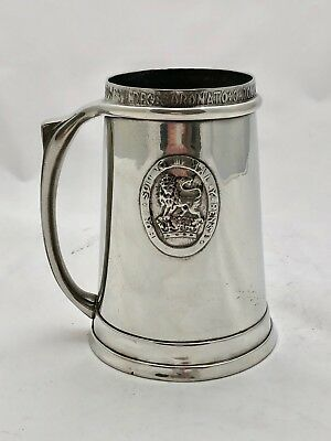 Rare Early Liberty & Co Tudric Pewter Coronation Tankard Archibald Knox 053