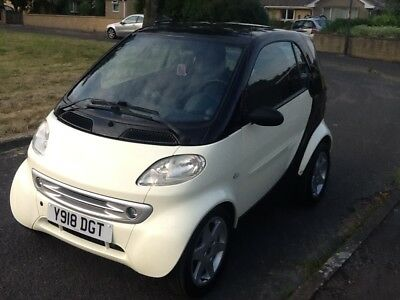 Mercedes Smart for two 600cc semi auto Left hand drive (ideal tow car)